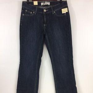 MERONA Women's Boot Cut Low Rise Jeans Dark Blue